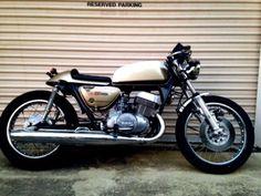 1975 Suzuki Gold Custom Vintage Cafe Racer For Sale