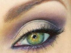 Trucco per gli occhi verdi