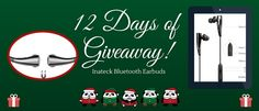 Participate and win a set of Inateck Bluetooth Earbuds