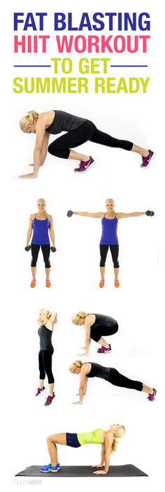 Blast the fat with this HIIT WORKOUT.
