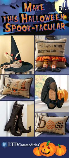 Create a spooky Halloween theme in your home with our home decor