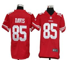 Youth San Francisco 49ers 82 Mario Manningham  Red Jersey