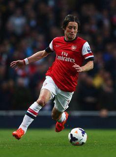Tomas Rosicky of Arsenal FC