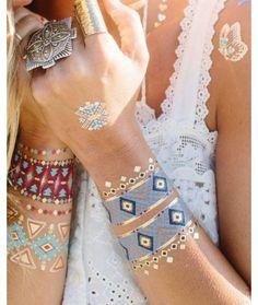 Inspiration Coachella : les tatouages éphémères