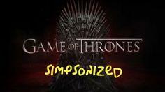 Game of Thrones Simpsonized  #GameOfThrones #Simpsons