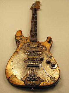 Chalicecaster guitar by Tony Cochran