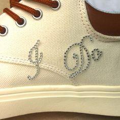1 Set I Do Me Too Bridal Groom Shoe Sticker White Clear Rhinestone Wedding Decor - Wedding Look