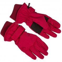 Glove, persian red Herringbone, Minymo