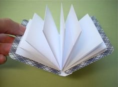 Little notebooks... perfect way to use up your scrapbook paper and very useful!
