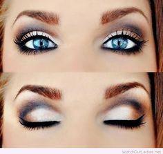 Brown Eyeshadow Looks For Blue Eyes – Watch out Ladies