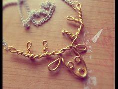 ☆DIY Wire Deer Necklace☆