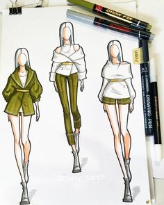 Fashion Sketches 294071050672701360 - Source by Dress Design Sketches, Fashion Design Sketchbook, Fashion Design Portfolio, Fashion Design Drawings, Fashion Sketches, Art Sketchbook, Fashion Figure Drawing, Fashion Drawing Dresses, Fashion Illustration Dresses
