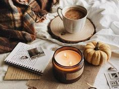 A hygge autumn afternoon.