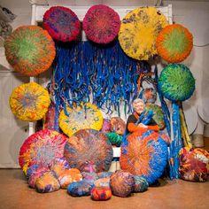Sheila Hicks, contemporary fiber artist                                                                                                                                                                                 More