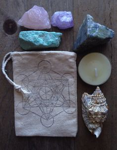 Man Within Universe Crystal Grid by SacraLuna on Etsy