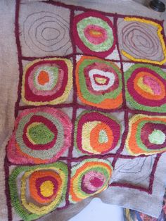 JUST Go Hook It - Rug Hooking: April 2011