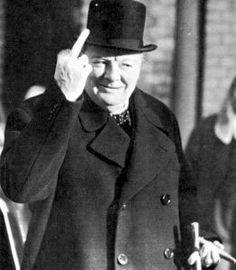 Winston Churchill + photoshop