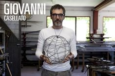 Giovanni Casellato graduated in architecture at the IUAV in Venice. He works as a designer and a sculptor using iron as his main material.