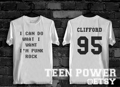 I'm punk rock i do what i want Michael Clifford 5 Seconds Of Summer T-Shirt Unisex High Quality. Worldwide Shipping S-XL by TeenPower on Etsy https://www.etsy.com/listing/207722353/im-punk-rock-i-do-what-i-want-michael