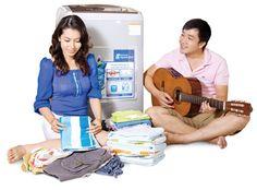 Quy trình hoạt động của máy giặt