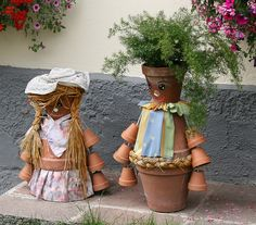 flower pot people | FLOWER-POT PEOPLE | Flickr - Photo Sharing!