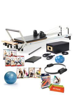 STOTT PILATES  SPX Reformer equipment package & workouts!