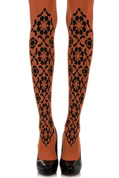 e6040dada1e Dress up your legs and create the prefect outfit with printed tights!  Whatever the occasion