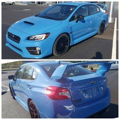 We just got our hands on the Limited edition Hyperblue 2016 Subaru WRX STI