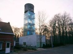 Turns Out, Water Tower Homes Are A Real Thing