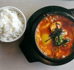 Soon dubu Korean food