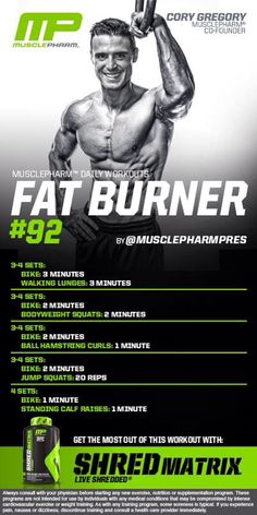 Musclepharm workout!