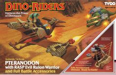 Pterandon Retro Toys, Vintage Toys, Vintage Models, Dino Riders Toys, Action Toys, Action Figures, Toy Packaging, Modern Toys, Geek Gadgets
