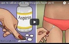 Lo que no sabias que la aspirina podía hacer por ti; tiene que verlo antes de que lo borren.