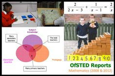 OFSTED reports. Great source for ideas on how to improve maths teaching.