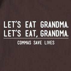 Comma confusion.