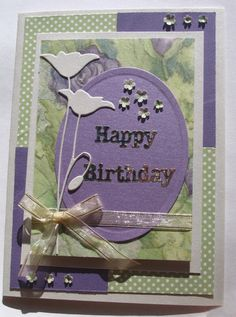 Spring Feeling Birthday card