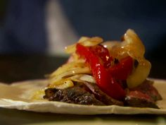 Fajitas Recipe : Tyler Florence : Food Network