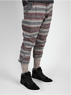 White Mountaineering Men's Ring Yarn knickerbockers....I think I SERIOUSLY need these!!!!!