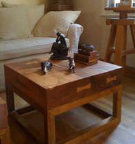 Free-standing washbasin / in wood - WOOD - SDA Decoration