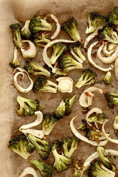 Roasted Broccoli Fennel