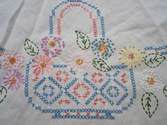 3 Different Pieces of Vintage Linens  Vintage Crochet by JewelsOfHighElegance on Etsy, $12.50