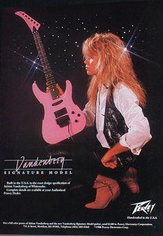 Adrian Vandenberg Signature Model Peavey® Guitars