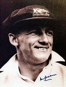 "Cricketer Donald George #Bradman also known as ""The Don"" A Cricketer of Australia is greatest cricketer of all time. He also known for his best score in cricket 99.94. Sir Donald Bradman Cricket of..."