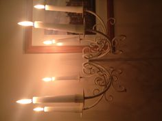 Candelabra top Candelabra, Candle Sconces, Wall Lights, Decorations, Candles, Lighting, Top, Home Decor, Appliques