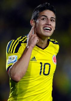 JAMES RODRIGUEZ the next best player in the world