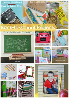 Adorable back-to-school projects to make the transition a bit easier and a lot more fun.