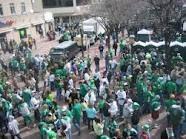 Celebrating St Patrick's day in Pittsburgh