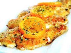 Kuřecí prsa s pomerančem - | Prostřeno.cz Shrimp, Meat, Food, Fine Dining, Essen, Meals, Yemek, Eten