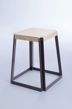 Stoolchair Table In 2019 Stackable Stools Metal Furniture