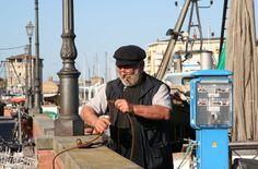 Fischerman, Cervia, Italy
